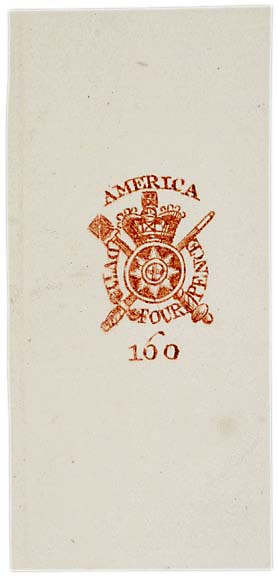 Washington Publishers - The British Colonial Tax Stamp